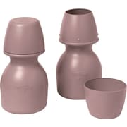 Medline Carafes with Cup, Mauve, 32 oz, 20/Pack