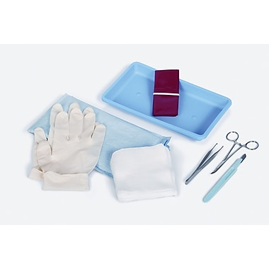 Medline Minor Debridement Kits, Lidded, 50/Pack