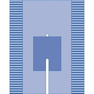 Medline Split Surgical Drapes with Adhesive, 108in. L x 77in. W