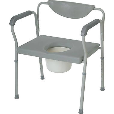 Guardian® Bariatric Commodes, 500 lb, 2/Pack