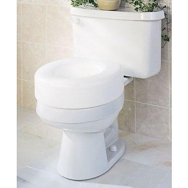 Guardian Signature™ Economy Raised Toilet Seats, 5in. H Seat, 3/Pack