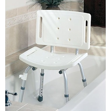 Guardian® Basic Shower Chairs with Backs, 250 lb, 3/Pack