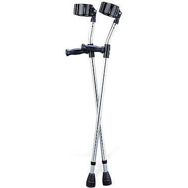 Guardian® Forearm Crutches, 5 ft to 6 ft 2in. H, Adult