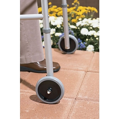 Guardian Signature™ Walker Front Wheel Attachment, 5in. Size, 1in. dia, 2/Set