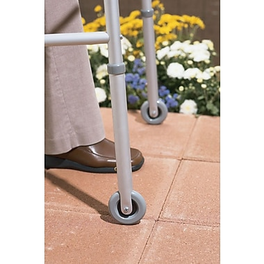 Guardian Signature™ Walker Front Wheel Attachment, 3in. Size, 1in. dia, Pair