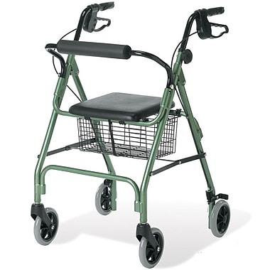 Guardian® Signature Economy Rollator, Green, Each