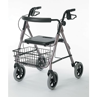Guardian® Signature Deluxe Rollator with 8in. Wheels, Red, Each