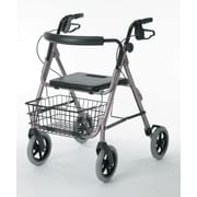 "Guardian® Signature Deluxe Rollator with 8"" Wheels, Red, Each"
