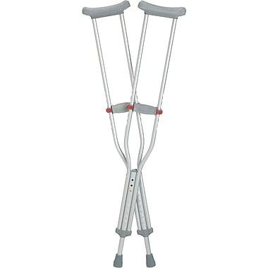RedDot® Aluminum Crutch, Adult, 8/Pack