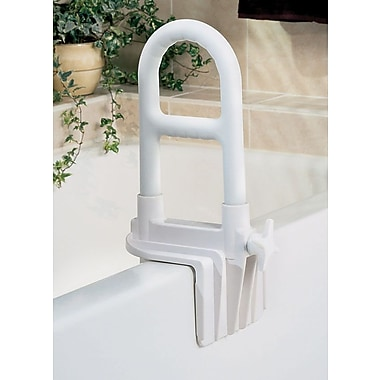 Medline Bathtub Grab Bars, 8in. L, White, 2/Pack