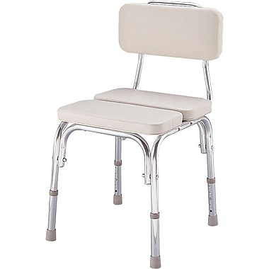 Guardian® Padded Shower Chairs with Backs, 300 lb