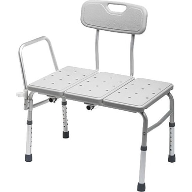 Guardian Signature™ Premium Non-padded Transfer Benches, White, 3/Pack