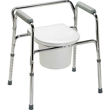 Guardian EZ-care 3-in-1 Commodes, 350 lb, 4/Pack