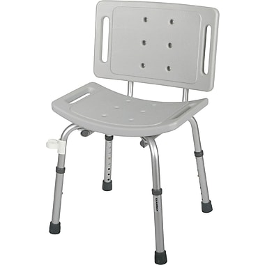 Guardian® Easy Care Shower Chairs with Backs, 250 lb, 4/Pack