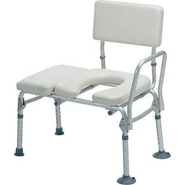 Medline Padded Transfer Benches, Gray