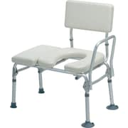 Medline Padded Transfer Benches, Gray, 2/Pack