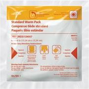 "Rapid Aid Standard Instant Hot Compress, 7"" L x 5 3/4"" W, 24/Pack"