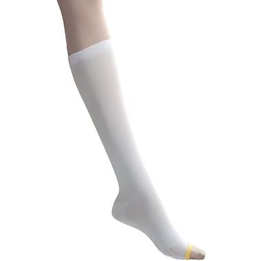 EMS® 15mmHg Knee High Anti-Embolism Stockings, White, Medium, Regular Length, 12 Pair/Box