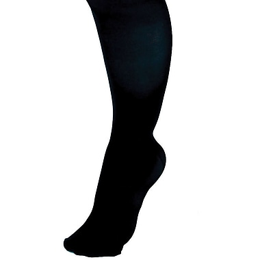 Curad® 30-40mmHg Knee High Compression Hosiery, Black, D Size, Regular Length, Each