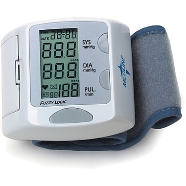 Medline Digital Wrist Blood Pressure Monitors, Wrist Cuff, Latex-free