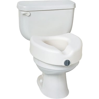 Medline Elevated Toilet Seats with Arms, 5 1/2in. H Seat