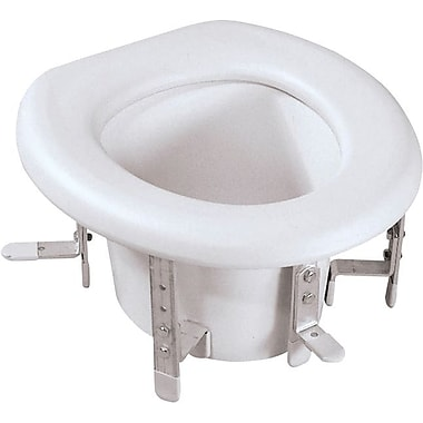 Medline Universal Raised Toilet Seats, 4 3/4in. - 6 3/4in. H Seat