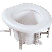 "Medline Universal Raised Toilet Seats, 4 3/4"" - 6 3/4"" H Seat"