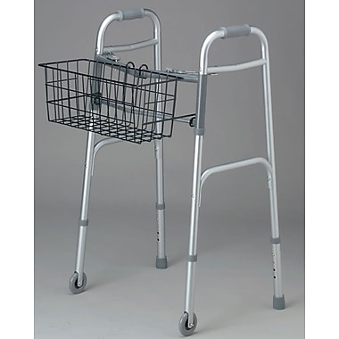 Medline Basket for 2-button Walker, 300 lb Weight Capacity, 2/Pack