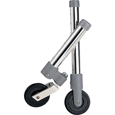 Medline Walker Swivel Caster, 5in. Size, 2/Set