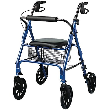 Guardian® Rollator with 8in. Wheels, Blue, Each