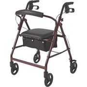 Guardian® Basic Rollator, Burgundy, Each