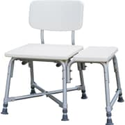 Guardian® Non-padded Bariatric Transfer Benches, White