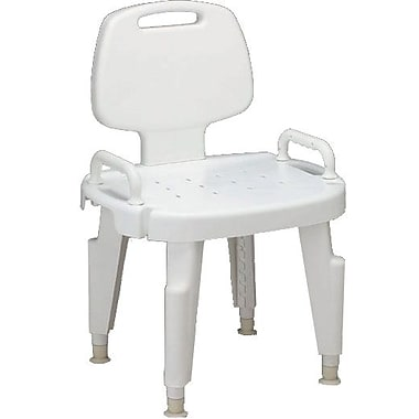Guardian® Composite Bath Benches with Arms and Backs, 300 lb