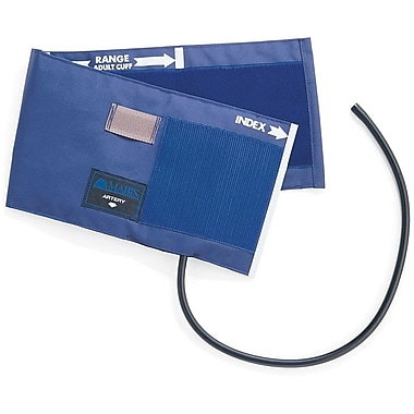 Medline Single Tube PVC Inflation Bags and Nylon Range Finder Cuffs, Adult 5 3/4in. x 22in.