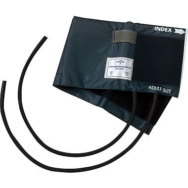 Medline Double Tube PVC Inflation Bags and Nylon Range Finder Cuffs, Adult 5 3/4in. x 22in.