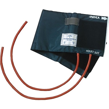Medline Double Tube Neoprene Inflation Bags and Nylon Range Finder Cuffs, Adult 5 3/4in. x 22in.