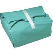 "AngelStat™ Bias Bound Wrappers, Jade Green, Misty Green Stitching, 54"" x 54"" Size"
