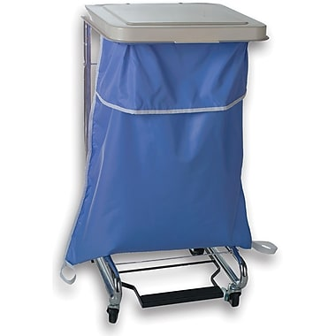 Medline Blockade Hamper Bags, Blue, 40in. L x 35in. W