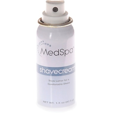 MedSpa™ Shaving Creams, 1 1/10 oz, 12/Pack