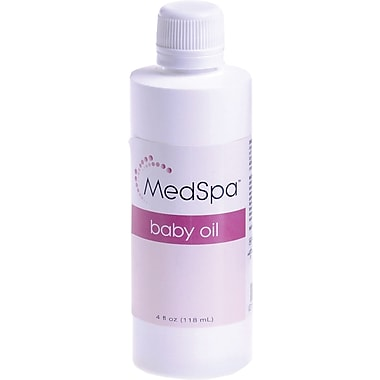 MedSpa™ Baby Oils, 16 oz, 12/Pack