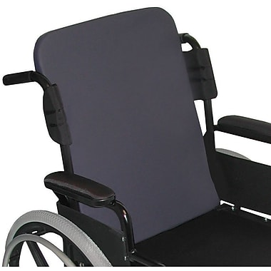 Medline Standard Wheelchair Back Cushion, 18in. W, Latex-free
