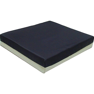 Medline Single Density Wheelchair Cushion, 18in. L x 3in. W x 16in. D, Each