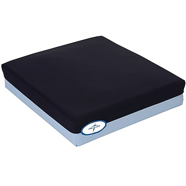 Medline Gel-foam Pressure Reduction Wheelchair Cushion, 20in. L x 3in. W x 18in. D