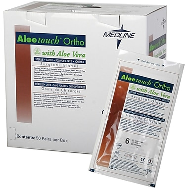 Aloetouch® Ortho Powder-free Latex Surgical Gloves