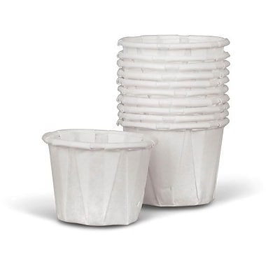 Medline Disposable Paper Souffle Cups, 1/2 oz, 5000/Pack