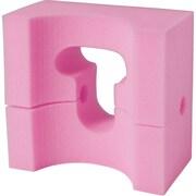 "Medline Foam Adult Head Positioners, 9"" L x 8"" W x 4 1/2"" H, 24/Pack"
