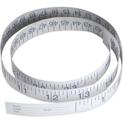 "Medline Paper Measuring Tapes, 24"" Size, 1000/Pack"