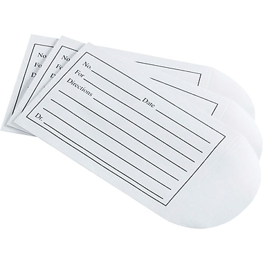 Medline Medication Envelopes, 3 1/2in. x 2 1/4in. Size, 500/Box