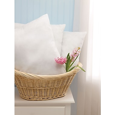 Classic Disposable Pillows, White, 16in. L x 12in. W, Lightweight, 24/Pack
