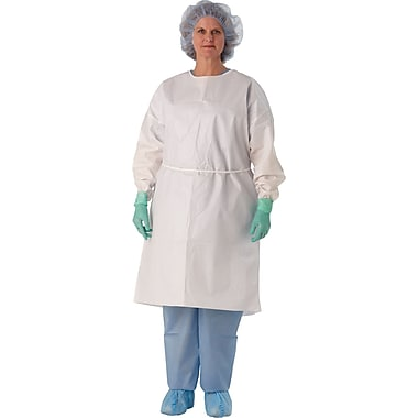 Medline Isolation Gowns with Elastic Wrist Bands